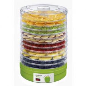 Suszarka do owoców Concept SO-1025 Dehydratator żywności Biała/Zielona