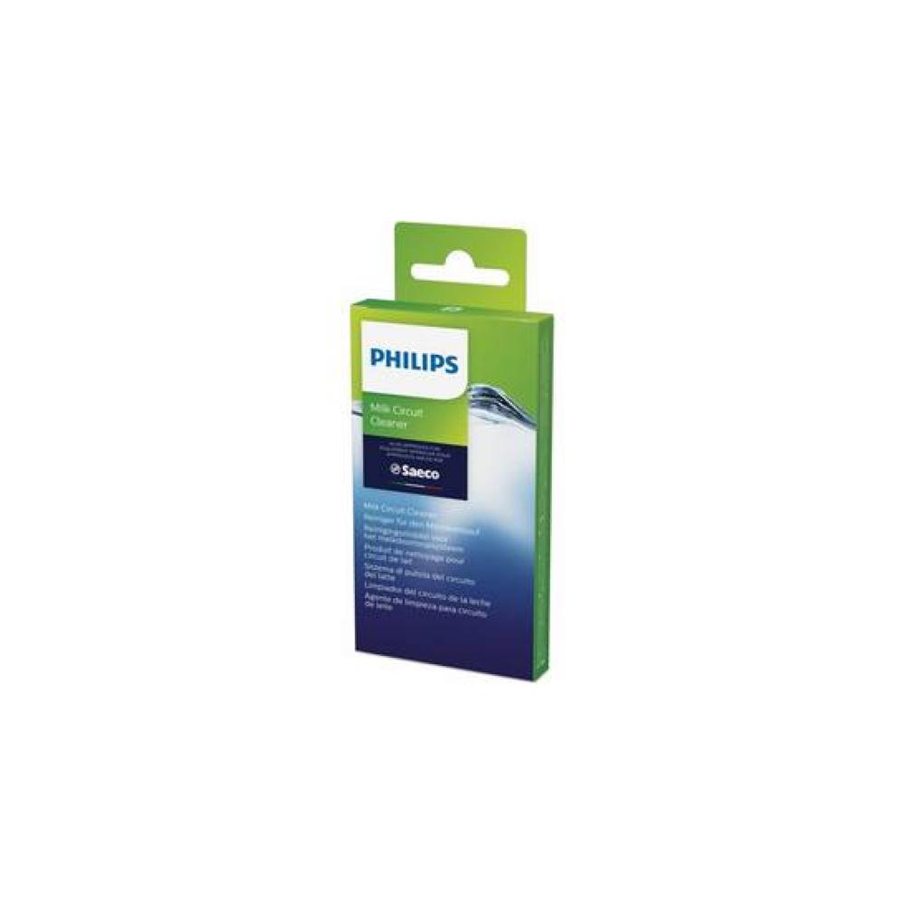 Tabletki czyszczące do espresso Philips CA6705/10 dezynfekcja obiegu mleka ekspresu i spieniacza Niebieskie
