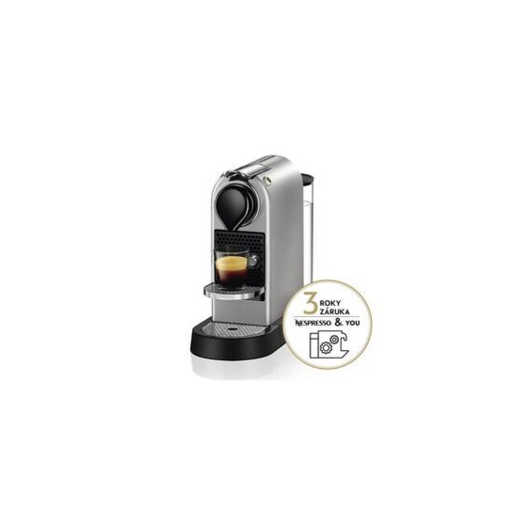 Ekspres do kawy Krups Nespresso Citiz XN741B10 Srebrne