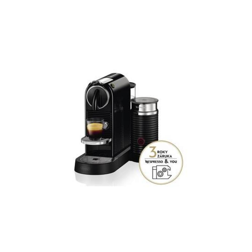 Ekspres do kawy DeLonghi Nespresso CitiZ&Milk EN267.BAE Czarne