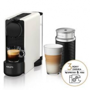 Ekspres do kawy Krups Nespresso Essenza Plus XN511110 białe