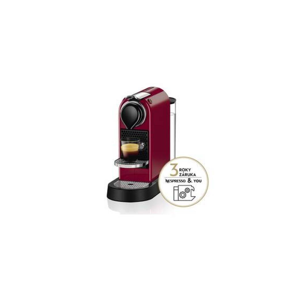 Ekspres do kawy Krups Nespresso Citiz XN741510 Czerwone