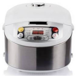 Wielofunkcyjny garnek Philips HD3037/70 Multicooker Srebrny/INOX