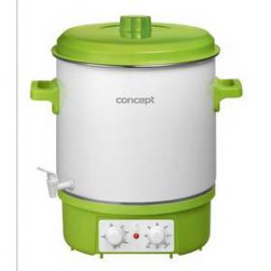 Garnek elektryczny Concept ZH-0020 Biały/Zielony