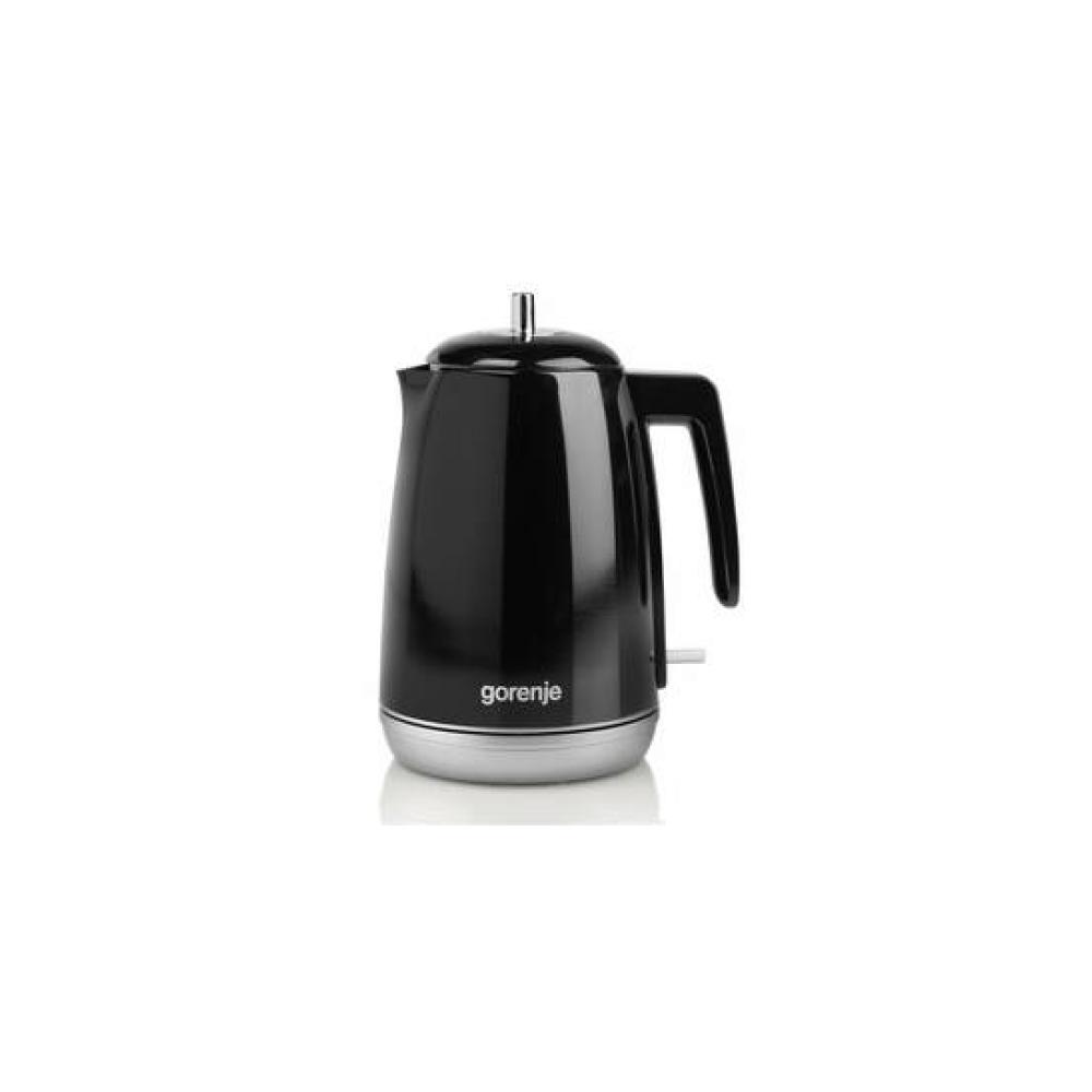 Czajnik bezprzewodowy Gorenje Retro black K15RLBK Czarna