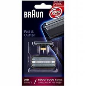 Akcesoria do maszynek do golenia Braun CombiPack FlexIntegral - 31B Czarne