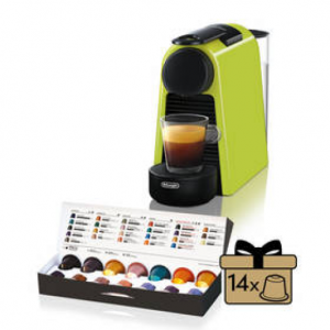 Ekspres do kawy DeLonghi Nespresso Essenza Mini EN85.L Zielone