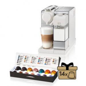 Espresso DeLonghi Nespresso Lattissima Touch EN560.S Srebrne