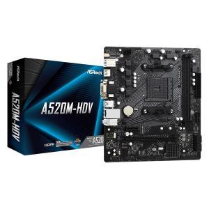 Płyta główna A520M-HDV AM4 2DDR4 HDMI/DVI/VGA M.2 mATX