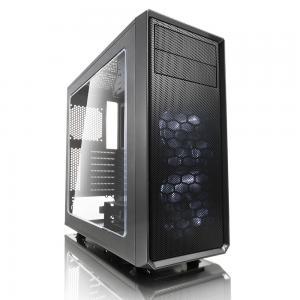 Focus G Window Gunmetal GRAY 3.5'HDD/2.5'SDD uATX/ATX/ITX