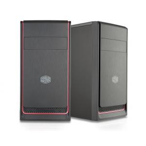 Obudowa MasterBox E300L czarno-czerwona (USB 3.0)