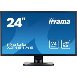 Monitor 24 X2481HS-B1 SLIM AMVA+, HDMI, DVI, 6 ms, Głośniki
