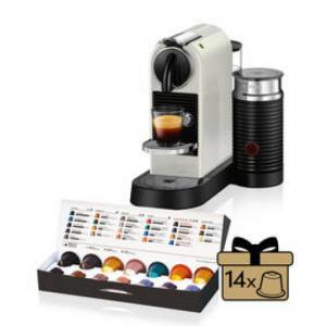Ekspres do kawy DeLonghi Nespresso CitiZ&Milk EN267.WAE białe