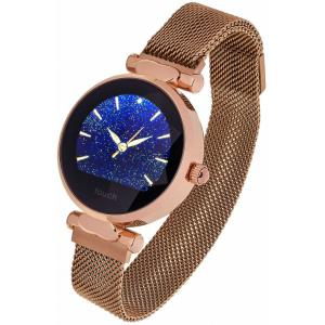Smartwatch Women Lisa złoty stalowy