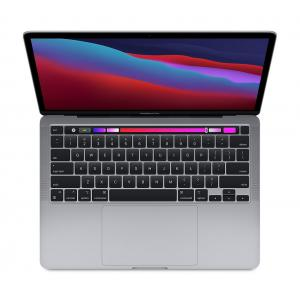 MacBook Pro 13: Apple M1 chip with 8 core CPU and 8 core GPU, 256GB SSD - Space Grey