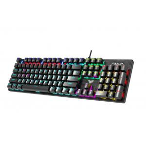 Retribution Mechaniczna klawiatura dla graczy Niebieskie przełączniki