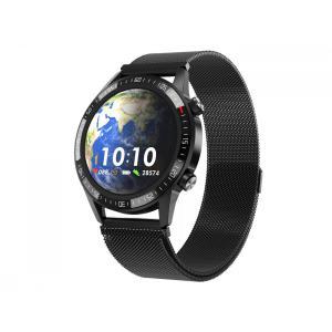 Smartwatch Gentleman GT Czarny stalowy