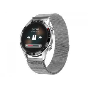 Smartwatch Gentleman GT Srebrny stalowy