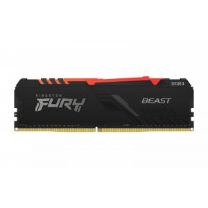 Pamięć DDR4 Fury Beast RGB 8GB(1*8GB)/3200 CL16