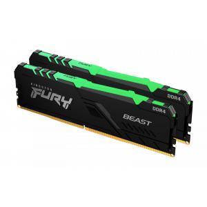 Pamięć DDR4 Fury Beast  RGB 16GB(2*8GB)/3200 CL16