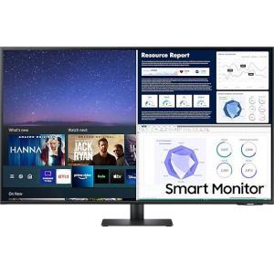 Monitor 43 cale LS43AM700UUXEN VA 3840x2160 UHD 16:9 8 ms (GTG) Smart płaski