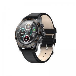 Smartwatch Men Style skórzany Czarny