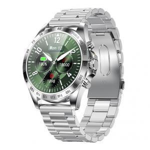 Smartwatch Men Style stalowy Srebrny