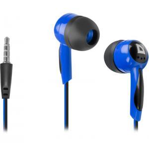 Słuchawki przewodowe, nauszne BASIC 604 Czarno-niebieskie