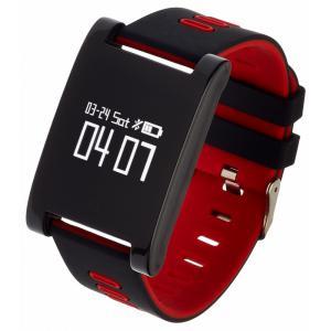 Smatwatch zegarek sportowy Sport 7 Czarno-czerwony