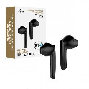 Słuchawki BT z mikrofonem TWS (USB-C) Czarne