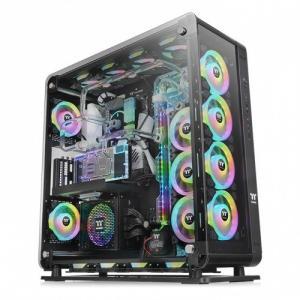 obudowa - Core P8 Black Tempered Glass