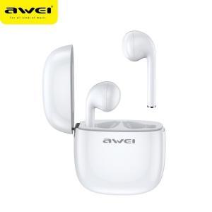 Słuchawki Bluetooth T28 TWS+stacja dokująca Białe