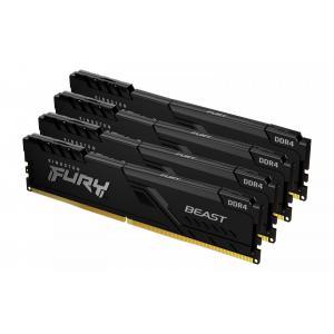 Pamięć DDR4 FURY Beast 128GB(4*32GB)/3200 CL16