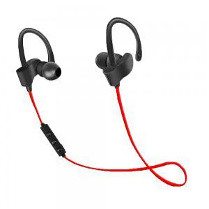 Słuchawki Bluetooth sportowe Czarno-czerwone